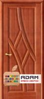 Межкомнатная дверь из Массива ОЛЬХИ Клэр ПГ махагон