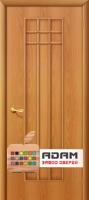 Межкомнатная ламинированная дверь Премиум ПГ миланский орех (16 Г)