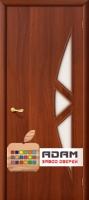Межкомнатная ламинированная дверь 4С15 итальянский орех (15 С)
