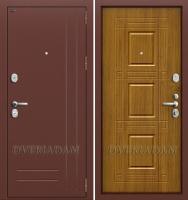 Входная дверь GROFF P2-202 П-4 Золотой Дуб (серия Premium)