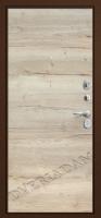 Входная дверь GROFF Т3-300 Tobacco Oak/Natural Oak