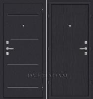Стальная дверь Оптим Кобра (66мм) Black Wave