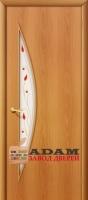 Межкомнатная ламинированная дверь 4с5п миланский орех (5 П)