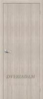 Межкомнатная дверь с эко шпоном Тренд-0 Cappuccino Veralinga