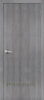 Межкомнатная дверь с эко шпоном Тренд-0 Grey Veralinga