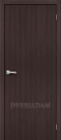 Межкомнатная дверь с эко шпоном Тренд-0 Wenge Veralinga