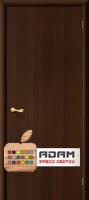 Межкомнатная ламинированная дверь ГостАдам  цвет Венге