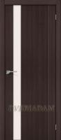 Межкомнатная дверь с эко шпоном Порта-11 ПО Wenge Veralinga