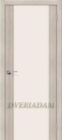 Межкомнатная дверь с эко шпоном Порта-13 ПО Cappuccino Veralinga