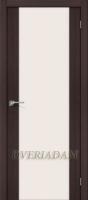 Межкомнатная дверь с эко шпоном Порта-13 ПО Wenge Veralinga