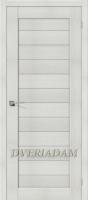 Межкомнатная дверь с эко шпоном Порта-21 ПГ Bianco Veralinga