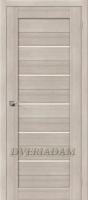 Межкомнатная дверь с эко шпоном  Порта-22 ПО Cappuccino Veralinga