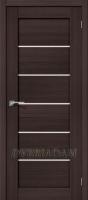 Межкомнатная дверь с эко шпоном Порта-22 ПО Wenge Veralinga