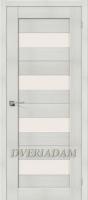 Межкомнатная дверь с эко шпоном Порта-23 ПО  Bianco Veralinga
