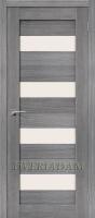 Межкомнатная дверь с эко шпоном Порта-23 ПО  Grey Veralinga