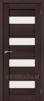 Межкомнатная дверь с эко шпоном Порта-23 ПО Wenge Veralinga