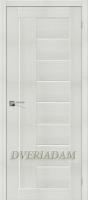 Межкомнатная дверь с эко шпоном Порта-29 ПО  Bianco Veralinga