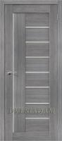 Межкомнатная дверь с эко шпономПорта-29 ПО  Grey Veralinga
