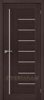 Межкомнатная дверь с эко шпоном Порта-29 ПО Wenge Veralinga