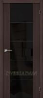 Межкомнатная дверь с Эко шпоном  V4 Wenge Veralinga Black Star