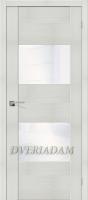 Межкомнатная дверь с Эко шпоном VG2 Bianco Veralinga White Waltz