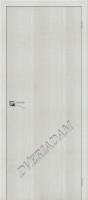 Межкомнатная дверь с эко шпоном Порта-50 Bianco Crosscut