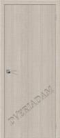 Межкомнатная дверь с эко шпоном Порта-50 Cappuccino Crosscut