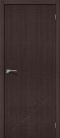 Межкомнатная дверь с эко шпоном Порта-50 Wenge Crosscut