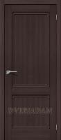 Межкомнатная дверь с эко шпоном Порта-62 ПГ Wenge Veralinga