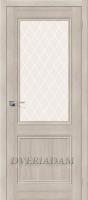Межкомнатная дверь с эко шпоном Порта-63 ПО Cappuccino Veralinga
