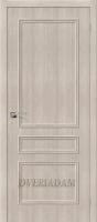 Межкомнатная дверь с эко шпоном Симпл-14 Cappuccino Veralinga