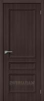 Межкомнатная дверь с эко шпоном Симпл-14 Wenge Veralinga