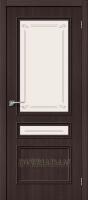 Межкомнатная дверь с эко шпоном Симпл-15.2 Wenge Veralinga