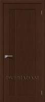 Межкомнатная шпонированная дверь Евро-1 ПГ Венге