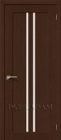 Межкомнатная шпонированная дверь Евро-14 ПО Венге
