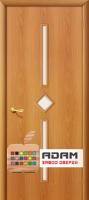 Межкомнатная ламинированная дверь 4С9 миланский орех (9 С)