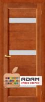 Межкомнатная дверь из Массива СОСНЫ Вега 2 ПЧО темный орех