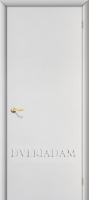 Межкомнатная ламинированная дверь ГостАдам  цвет Белый