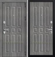 Входная дверь GROFF P3-303 (94 мм) П-27 Серый Дуб