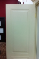 Межкомнатная окрашенная дверь Блюз пг белый