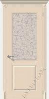 Межкомнатная окрашенная дверь Блюз по крем