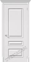 Межкомнатная окрашенная дверь Фьюжн Плюс ПГ Белый