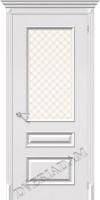 Межкомнатная окрашенная дверь Фьюжн Плюс ПО Белый