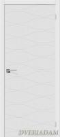 Межкомнатная окрашенная дверь Граффити-3 белый