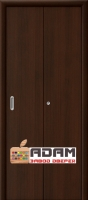 Ламинированная Дверь-книжка ГостАдам Венге