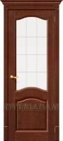 Межкомнатная дверь из Массива Франческо ПО Орех