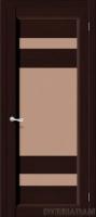 Межкомнатная дверь из Массива Леон ПО венге