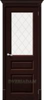Межкомнатная дверь из Массива Леонард ПО Венге