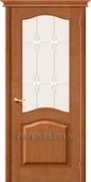 Межкомнатная дверь из Массива СОСНЫ М7 ПО светлый лак
