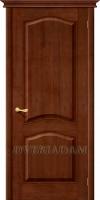 Межкомнатная дверь из Массива СОСНЫ М7  ПГ темный лак